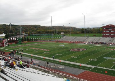 Crown Field at Andy Kerr Stadium, View to the Southwest