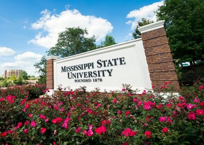 Entrance to Mississippi State Campus