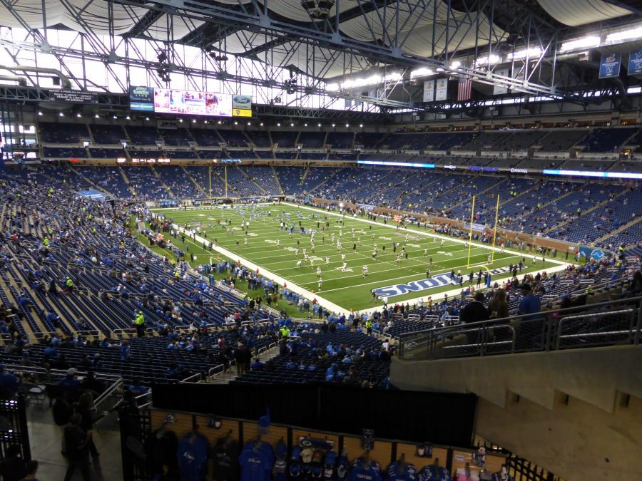 Ford Field Interior Corner View of Field