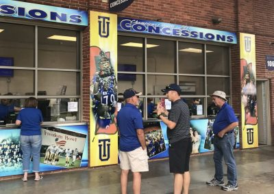 H. A. Chapman Stadium, Concessions