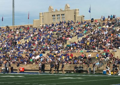 H. A. Chapman Stadium, Visitor's Sideline