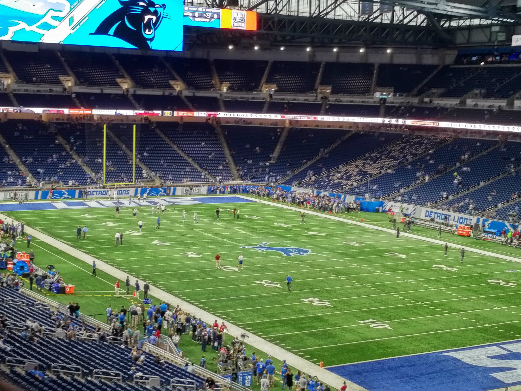 Corner View Of Ford Field