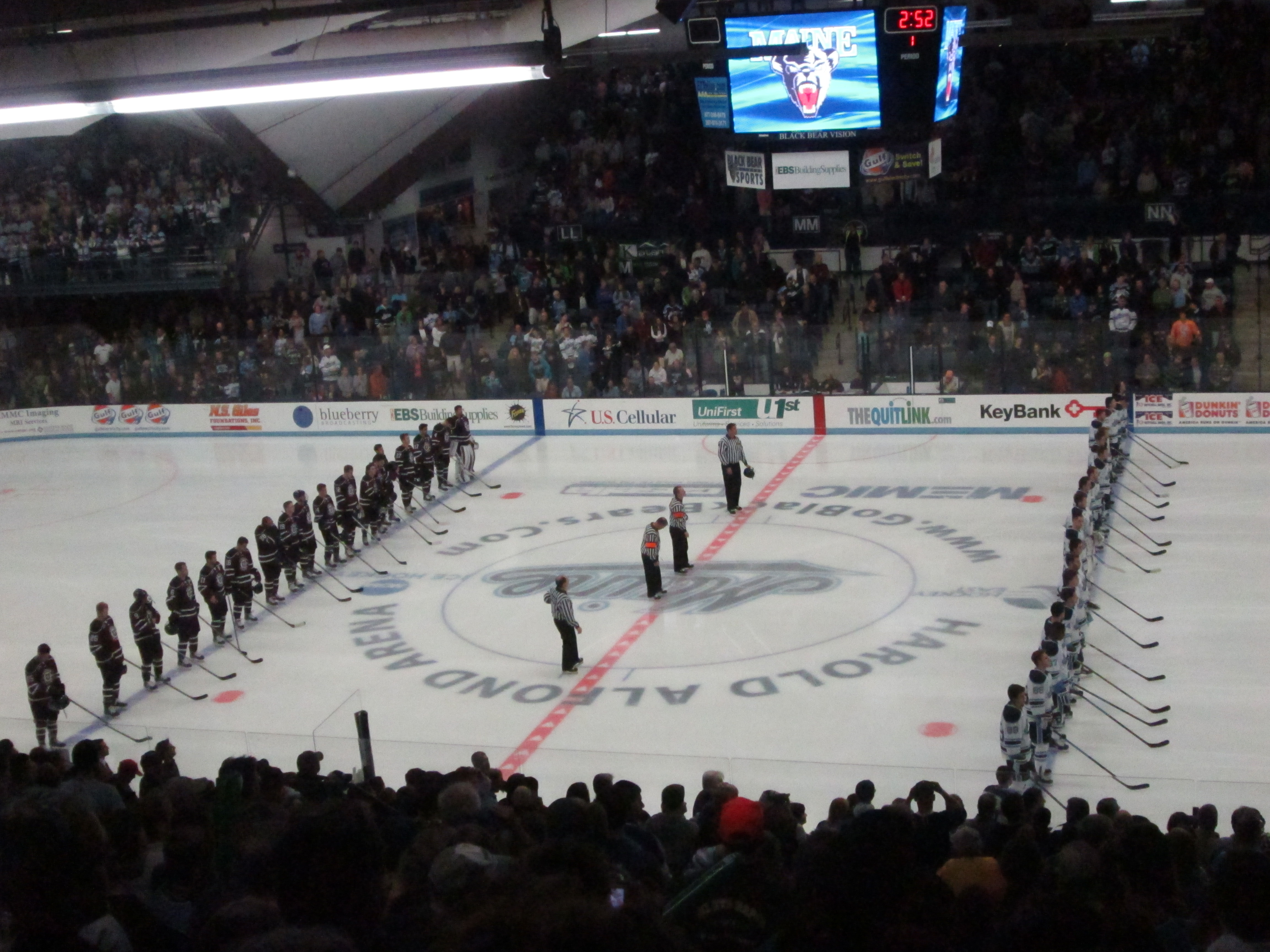 Most intimidating college hockey arenas