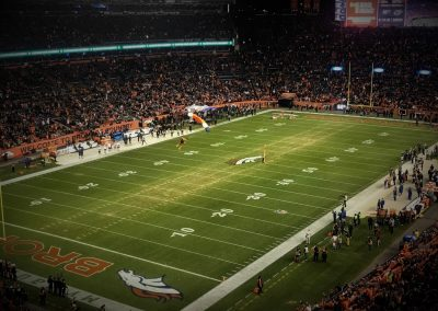 Skydriver drops into Broncos Stadium at Mile High for Pregame Festivities