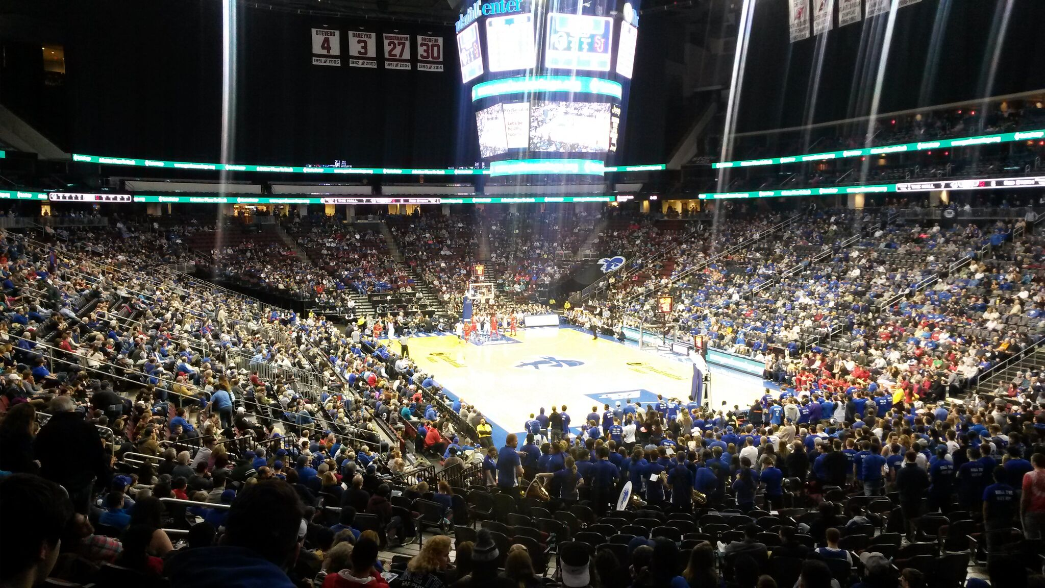 newest f88bc 629a5 Prudential Center – Seton Hall Pirates | Stadium Journey
