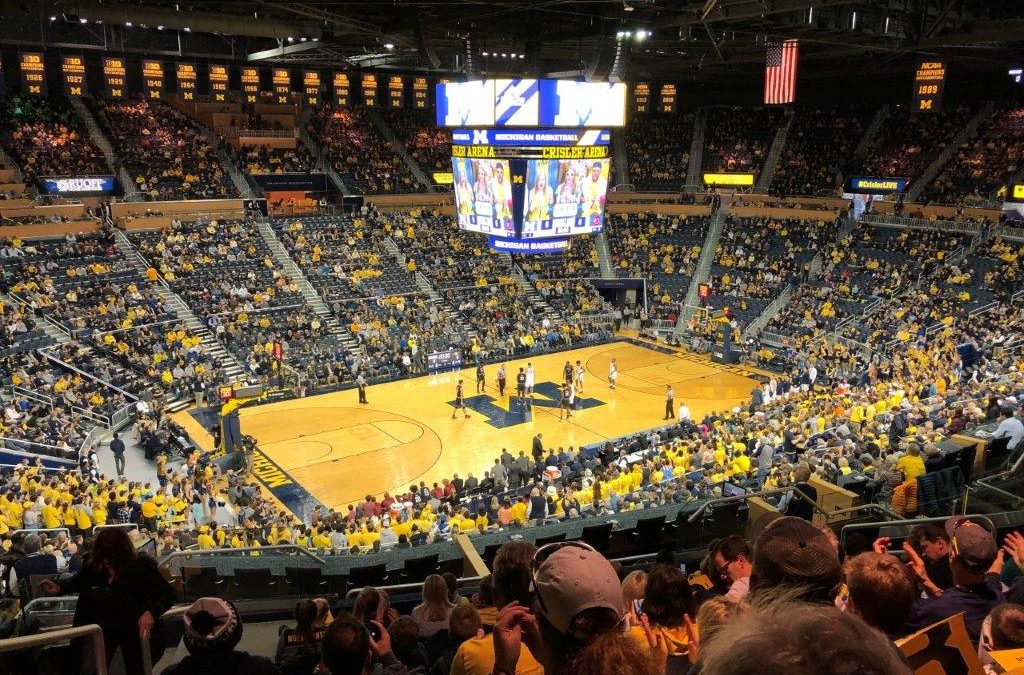 Crisler Center – Michigan Wolverines