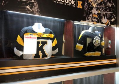 Jersey Display at Leon Centre