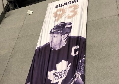 Doug Gilmour Banner at Leon Centre