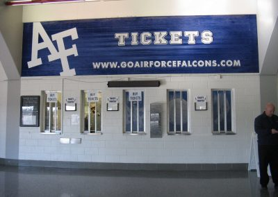Cadet Field House Ticket Booth