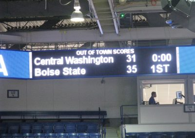 Clune Arena Out of Town Scores