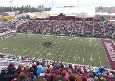 Washington-Grizzly Stadium, Montana Grizzlies in action