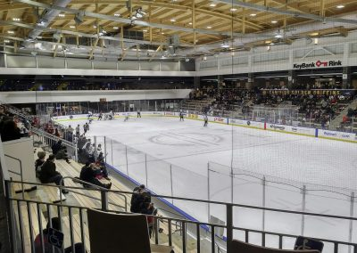 Game Action at HarborSide Arena