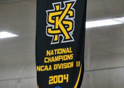 National Title Banner