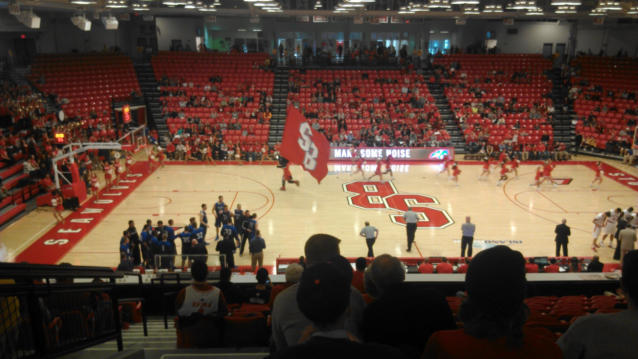 Island Federal Credit Union Arena – Stony Brook Seawolves | Stadium Journey