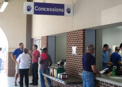 First Security Field @ Estes Stadium, Concessions