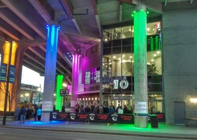 Rogers Arena Entrance
