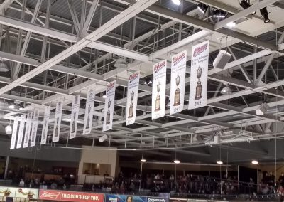 Banners Hang at Tribute Communities Centre