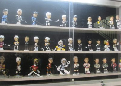 Bobblehead Display at Mohegan Sun Arena
