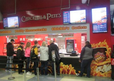 Chickie's and Pete's Stand at Mohegan Sun Arena