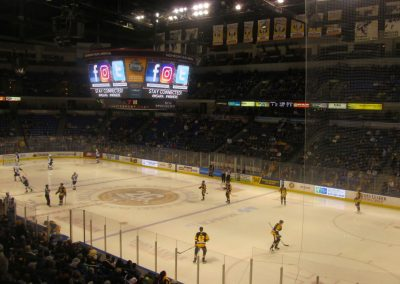 Corner View at Mohegan Sun Arena