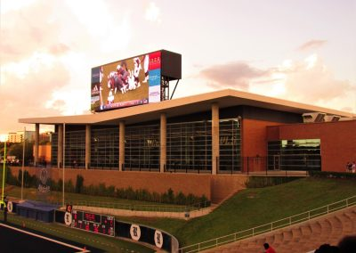 Rice Stadium, Field House in End Zone