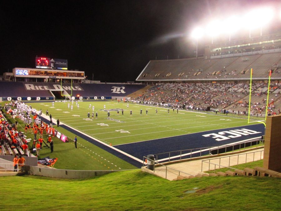 Rice Stadium Interior