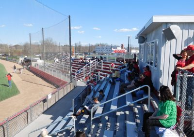 Fiondella Field - Press Box and Seating Area Behind Home Plate