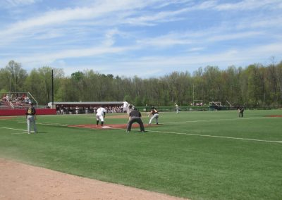 Game Action at Fiondella Field