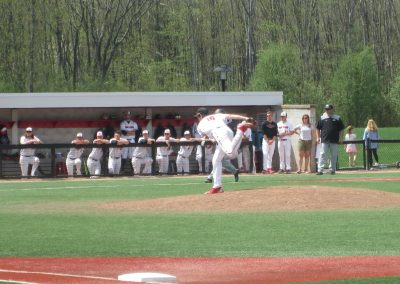 Delivering the Pitch at Fiondella Field
