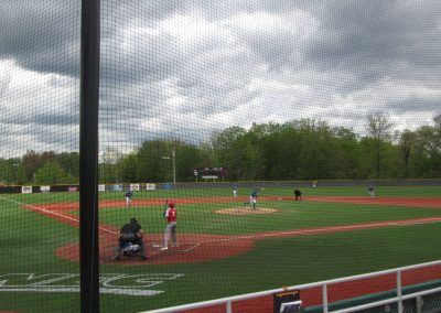 View From the Stands at CCSU Baseball Field