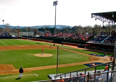 Davenport Field - View from Third Base Stands