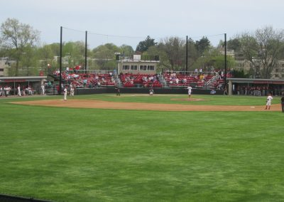 View from Center Field at Alumni Diamond