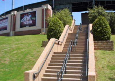 L Dale Mitchell Park, Stairs to the Main Concourse