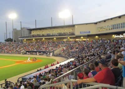 Biloxi Shuckers Fans at MGM Park