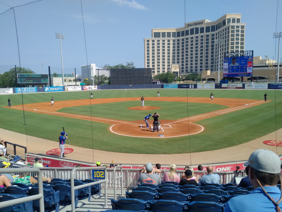 Behind Home Plate at MGM Park