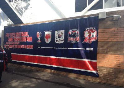Allianz Stadium, Sydney Roosters Signage