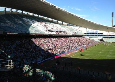Allianz Stadium, View from the End Zone