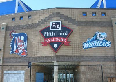 Fifth Third Field Signage