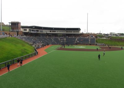 View from Right Field at Monongalia County Ballpark