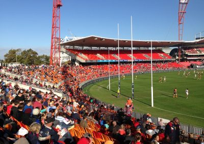 Spotless Stadium - Crowd at Northern End