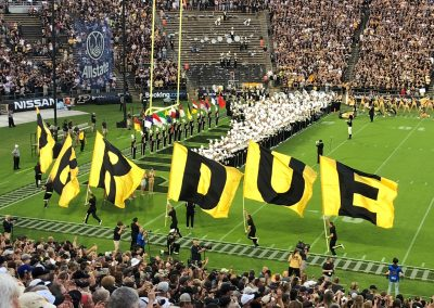 The Boilermakers Take the Field