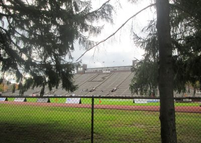 View from the Brown Stadium Grove