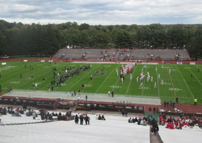 View from the Top of the Stands at Brown Stadium