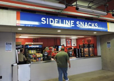 Kenneth P. LaValle Stadium, Concessions Stand