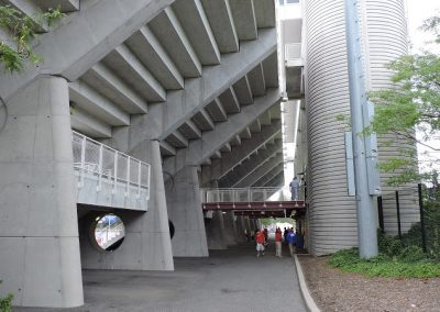 Kenneth P. LaValle Stadium, Concourse behind East Stands