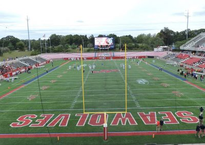 Kenneth P. LaValle Stadium, Endzone View