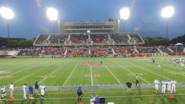 Kenneth P. LaValle Stadium, Game view from Student Section