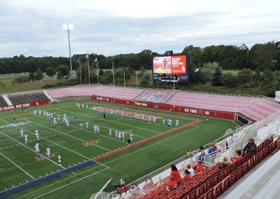 Kenneth P. LaValle Stadium, Looking towards the North End Zone