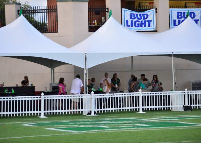 Spec Martin Memorial Stadium End Zone Cabanas