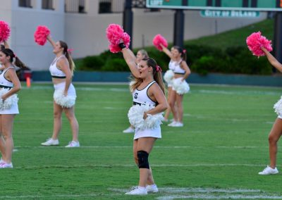 Spec Martin Memorial Stadium, Stetson Cheerleaders